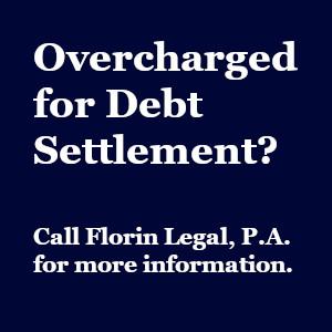 Overcharged for Debt Settlement?